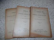 1915.Arkiv for matematik astronomi fysik.mathematique astronomie.T10.