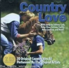 FAST FREE SHIP, SCRATCH-FREE: Country Love - Various Artists (CD, 2-Discs, 2003)