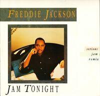 "FREDDIE JACKSON jam tonight 12 CL 461 uk capitol 1987 12"" PS EX/EX"