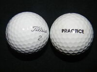 "20 TITLEIST ""PRO V1"" - ""PRACTICE"" - ON BALL - Golf Balls - ""PEARL/A"" Grades."