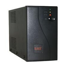 UPS 350VA 2x UK Presa di Alimentazione Pc Computer Alimentazione elettrica ininterrotta