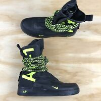 Nike SF AF1 Special Field Air Force One 1 High Black Volt [AA1128 003] Size 12