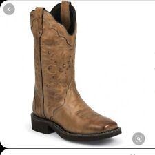 New listing Justin Gypsy Girls Caramel L2907 Boots Size 6B
