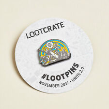 """LOOT PIN  """"Unite 2.0 Justice League"""" Loot Crate Exclusive - November 2017 - NEW"""