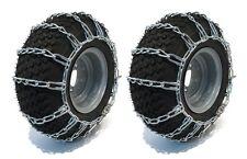 2 Link TIRE CHAINS 20x8.00-10 20x8.00-8 20x8x10 20x8x8 Tractor Rider Snowblower