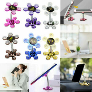 360° Magic Double-Sided Suction Cup Mount Mobile Phone Holder Desk Bracket Stand