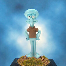 Painted Squidward Tentacles Monopoly Token