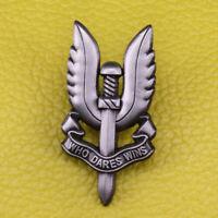 British Army Special Air Service SAS Who Dares Wins metal badge Enamel Pin