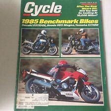 Cycle Magazine Suzuki GS1150E Honda V65 Magna January 1985 061717nonrh2
