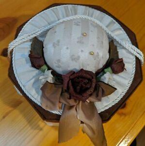 Sewing Box Basket Fabric, Octagon Shape
