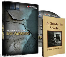 Infamous Delux Set (DVD, Gimmicks and Books) by Daniel Meadows and James Anthony