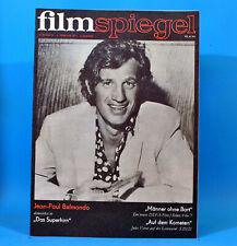 DDR Filmspiegel 3/1971 Jean-Paul Belmondo Jenny Gröllmann Anna Karina M. Trettau