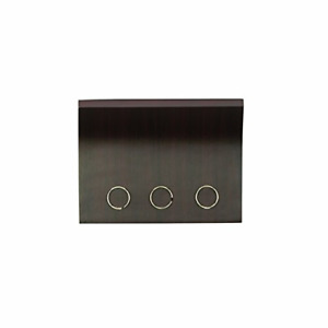 Umbra, Espresso Magnetter – Magnetic Wall Mounted Key/Mail Entryway STORAGE
