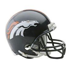 Nfl Denver Broncos Mini Helmet Vsr4 Riddell Football Helmet Boxed Footballhelm