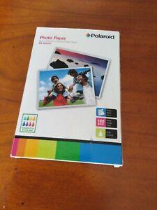 60 papier photo marque polaroid 6x4 brillant 15x10cm