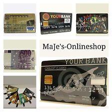 ☆ 8 GB USB Scheck Karte Schwarz Marvel´s Super Heros Massenspeicher Neu ☆