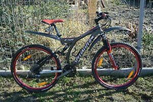 SPECIALIZED FSR ENDURO PRO bike !! shimano XTR, XT, FOX, MANITOU ! LOW MILAGE !!