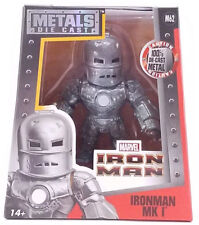 "Marvel Iron Man MK I 4"" Metal DieCast  M62 2016 Collectable Figure"
