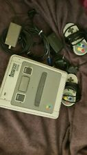 2x Super Nintendo SNES PAL Konsole original Controller uKabel Super Mario Allsta