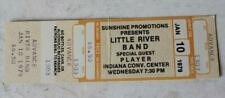 Little River Band-Player 1979 Concert Ticket Stub Indianapolis IN Convention