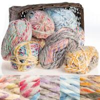 Red Heart Collage Acrylic Wool Blend Yarn Jumbo #7 Knit Crochet Skein Soft
