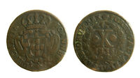 s47_37) Portugal, Joseph I, 10 Reis (1/2 Vinten) 1736 KM# 217 - DIFETTO