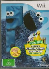 NINTENDO WII SESAME STREET COOKIE'S COUNTING CARNIVAL THE VIDEO GAME BRAND NEW