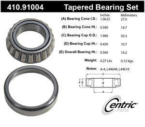Wheel Bearing and Race Set-Vista, FWD Centric 410.91004