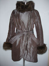giubbotto donna Martylò jacket winter woman n.42 marmot fur