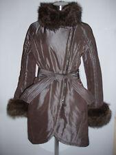giubbotto donna Martylò jacket winter woman n.42 marmot fur