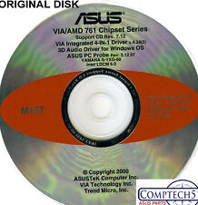 ASUS GENUINE VINTAGE ORIGINAL DISK FOR A7 PRO Motherboard Drivers Disk M167