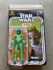 """Star Wars GREEDO 6"""" The Black Series LucasFilm 50th Anniversary *SHIPS TODAY* 🔥"""