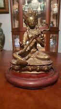 Vintage Bronze Saraswati - India - mid 20th century   statuette