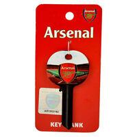 ARSENAL FC STADIUM CLUB CREST BLANK DOOR KEYS KEY NEW SOUVENIR GIFT XMAS