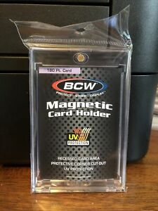 BCW One-Touch Thick Card 180pt Point Magnetic Card Holder