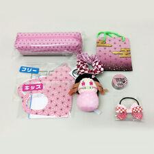 Kimetsu no Yaiba Mini Plush Doll+Traditional Japanese Patterns Items (Nezuko)