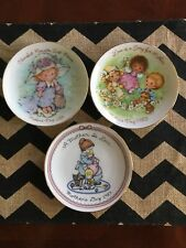 Lot of 3 Avon collective Mother's Day plates. 1981, 1983, 1987.