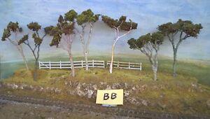 Model Trees Australian Gums 7 Assorted NSWGR QGR  train rail HO OO N  lot 150 M