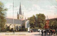 POSTCARD     NORFOLK  GREAT  YARMOUTH   Parish  Church