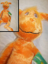 """Dr.Seuss The Foot Book Orange Character Nwt Kohl's Cares 18"""" wow cute"""