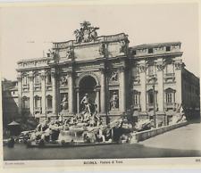Italie, Roma, Fontana di Trevi Vintage print.  Tirage argentique  18x24  C