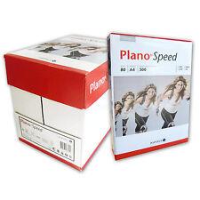 2500 Blatt Kopierpapier A4 Marke Plano Speed Druckerpapier Fax Copy Paper Laser