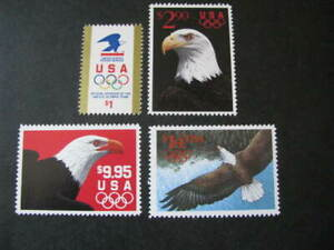 US Stamps Olympics Scott # 2539-2542 Never Hinged Catalog Value 4 90.00+ Lot 1