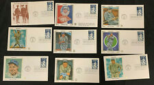 1983 VINTAGE ORIGINAL BABE RUTH FIRST DAY COVER LOT (9) #6