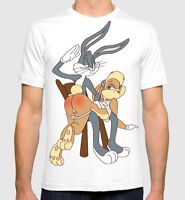 Bugs Bunny and Lola T-shirt, Looney Tunes Tee, Men's  Women's All sizes
