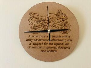 Motorcycle Definition Clock