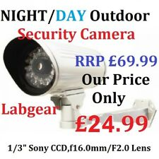 La notte/giorno LED CCTV TELECAMERA SICUREZZA PER SONY Labgear LAB2495 *** Libero Veloce Post ***