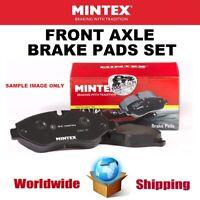 MINTEX Front BRAKE PADS SET for LAND ROVER RANGE ROVER EVOQUE 2.0 4x4 2012->on