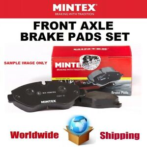 MINTEX Front Axle BRAKE PADS SET for FORD USA EXPLORER 3.5 4WD 2015->on