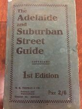 THE ADELAIDE AND SUBURBAN STREET GUIDE 1921 1ST EDITION. W K Thomas and Co.